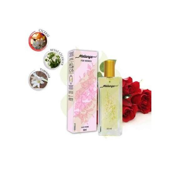 Bargello Melange çiçeksi Beyaz çiçekler Tuberose Kadın Parfüm 50 Ml